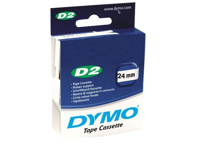 Taśma bazowa D2, 24mm/10m, biały Dymo