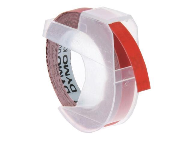 Taśma do wytłaczarek 3D 6mm/3m, czerwona Dymo