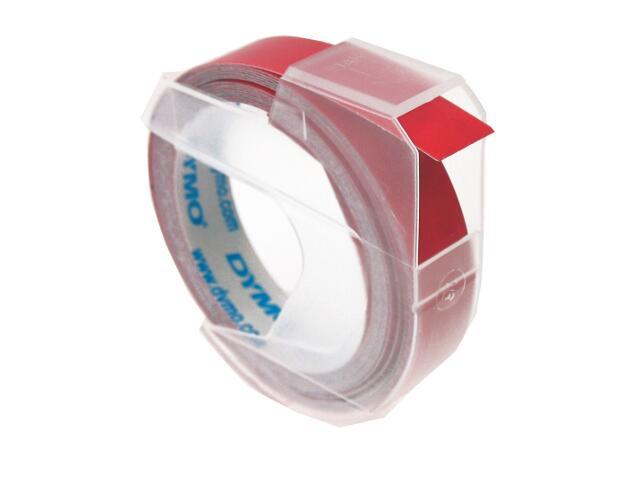 Taśma do wytłaczarek 3D 9mm/3m, czerwona Dymo