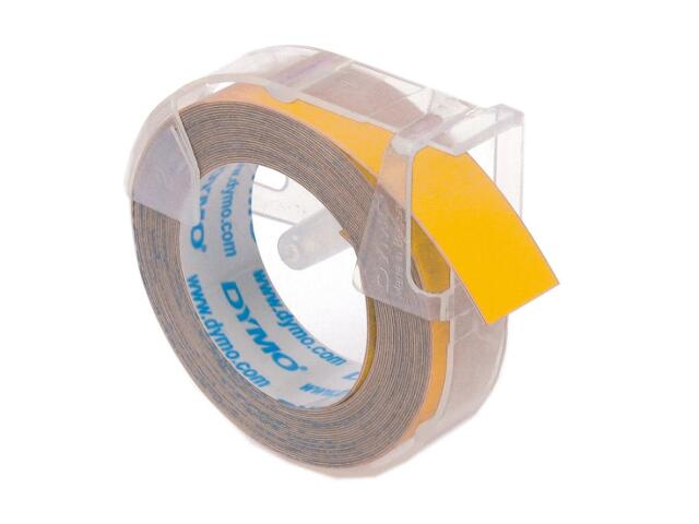 Taśma do wytłaczarek 3D 12mm/3m, żółta Dymo