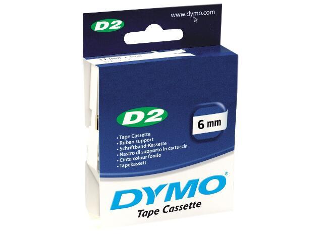 Taśma bazowa D2, 6mm/10m, niebieska Dymo