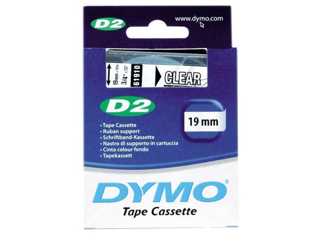 Taśma bazowa D2, 19mm/10m, przezroczysty Dymo