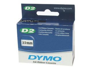 Taśma pisząca D2, 32mm/50m, niebieski Dymo