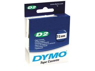 Taśma bazowa D2, 32mm/10m, zielony Dymo