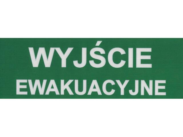 Znak ewakuacyjny piktogram E01 Mawel