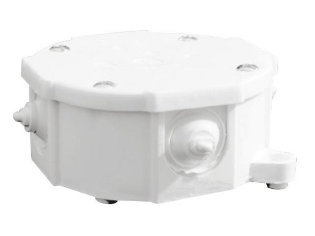 Puszka instalacyjna nadtynkowa EP-LUX 5x2,5mm2 biały Elektro-plast N.