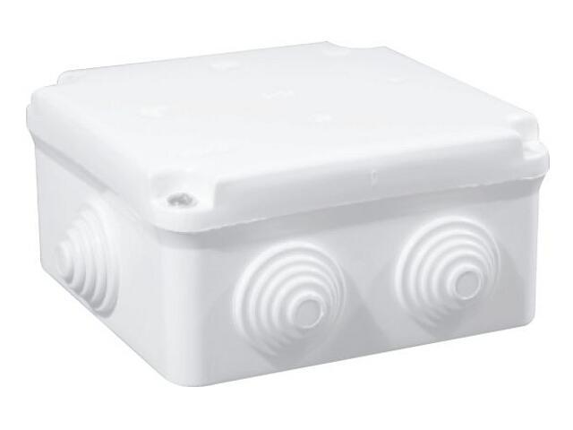 Puszka instalacyjna odgałęźnik EP-LUX 6 wylotowy 5x4mm2 PK-2 biały Elektro-plast N.