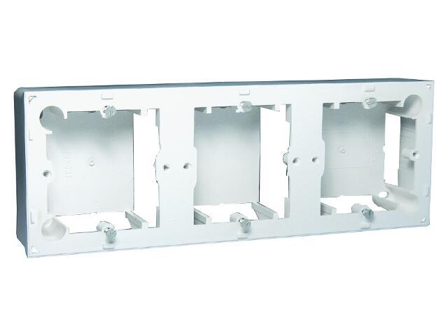 Puszka instalacyjna Classic nadtynkowa 3x MPN3/11 biały Kontakt Simon