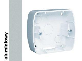 Puszka instalacyjna Akord nadtynkowa 1x APN1/26 aluminium srebrny Kontakt Simon