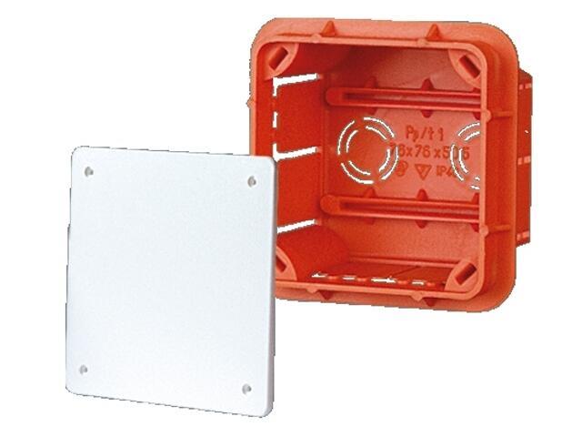Puszka instalacyjna podtynkowa Pp/t 1 Elektro-Plast