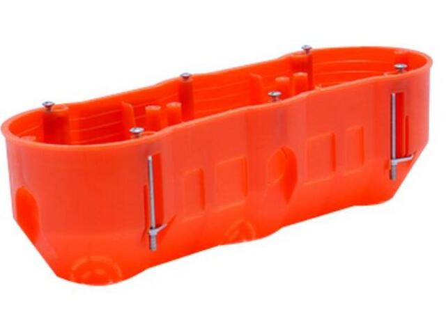 Puszka instalacyjna palna 3-krotna głęboka regips Polmark