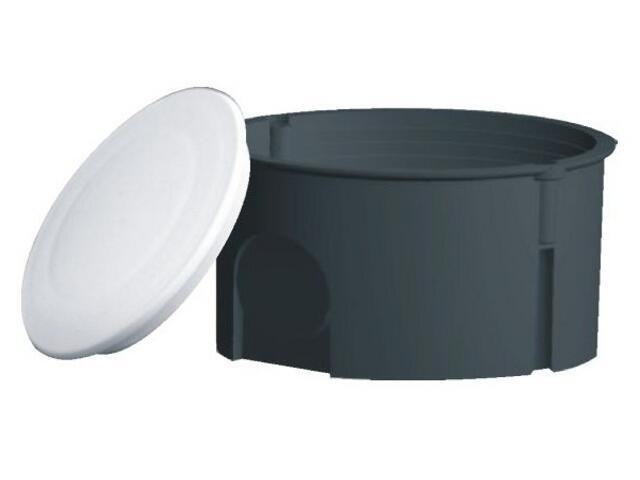 Puszka instalacyjna podtynkowa z pokrywą PK-80 10 szt. szary Elektro-plast N.