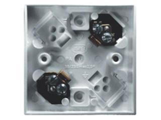 Puszka instalacyjna KAPPA do przyborów 2-zaciskowa 2,5mm2 biały Ospel
