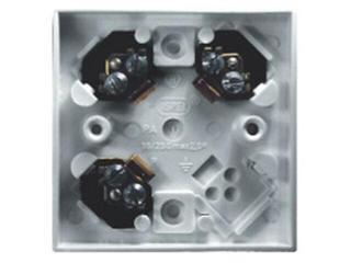 Puszka instalacyjna KAPPA do przyborów 3-zaciskowa 2,5mm2 biały Ospel
