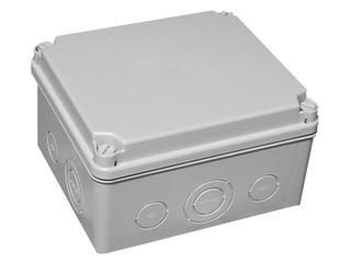 Puszka instalacyjna LIGHT IP55 skręcana 245x185x95 10 osłabień IDE