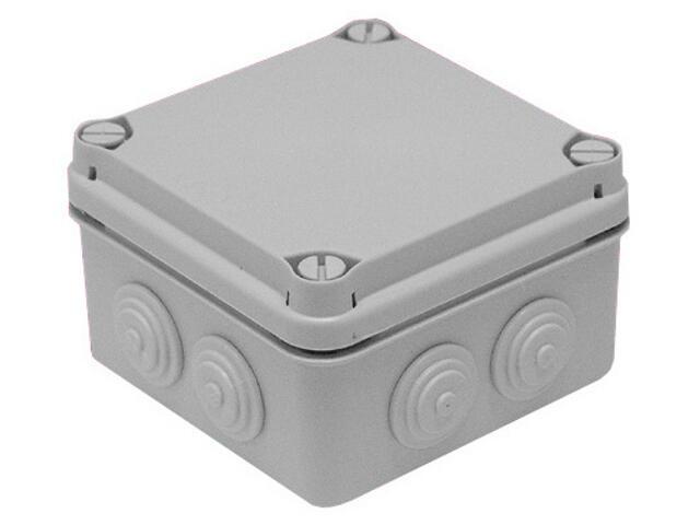 Puszka instalacyjna LIGHT IP55 skręcana 111x111x68 7 osłabień IDE