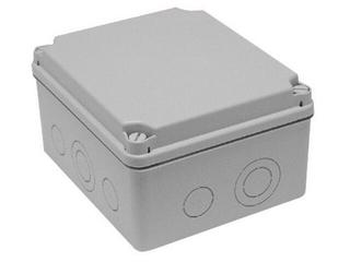Puszka instalacyjna LIGHT IP55 skręcana 164x119x79 10 osłabień IDE