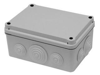 Puszka instalacyjna z dławicami membranowymi 150x110x70 PCE