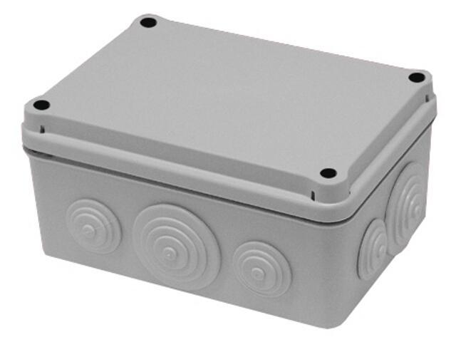 Puszka instalacyjna z dławicami membranowymi 190x145x70 PCE