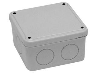 Puszka instalacyjna z osłabieniami IP44 100x100x40 PCE