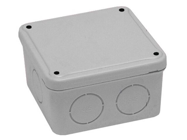 Puszka instalacyjna z osłabieniami IP44 100x100x65 PCE