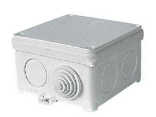 Puszka instalacyjna Fastbox nadtynkowa z dławicą 83x83x53 N80x80F IP54 Simet