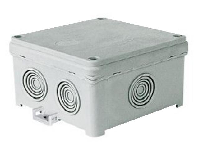 Puszka instalacyjna Fastbox nadtynkowa z dławicą 93x93x55 N90x90F IP54 Simet