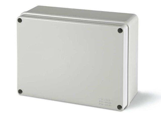 Puszka instalacyjna SCABOX 190x140x70 mm, dławica IP56 Scame