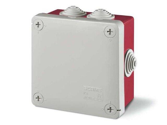 Puszka instalacyjna CUBIK 100x100x50 mm 960°C Scame