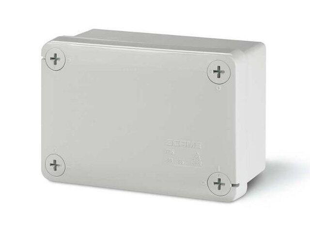 Puszka instalacyjna CUBIK 120x80x50 mm 960°C bez dławic Scame