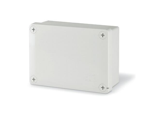 Puszka instalacyjna CUBIK 150x110x70 mm 960°C bez dławic Scame