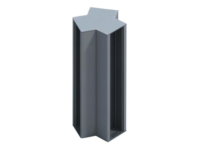 Minikolumna trzystr. MK3 -483 9xRK2+3xRK1 21M aluminium AKS Zielonka