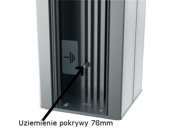 Uziemienie 60/110 i pokrywy 78mm 5szt. AKS Zielonka