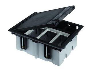Puszka Connect podłogowa 3 moduł gł. 93mm S310/1 Kontakt Simon