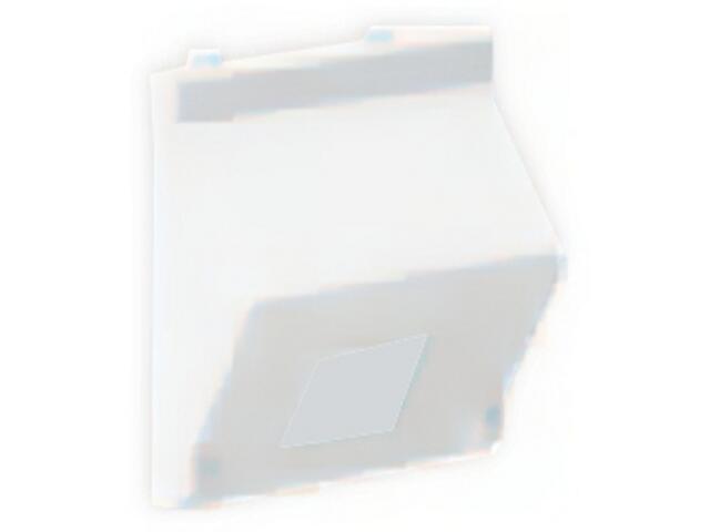 Płytka Connect teleinf. 1x z osłoną skośna K80/9 Kontakt Simon