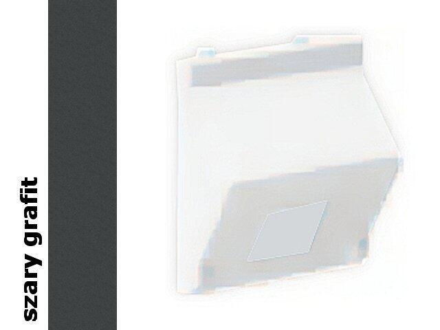 Płytka Connect teleinf. 1x z osłoną skośna K80/14 płytka Kontakt Simon
