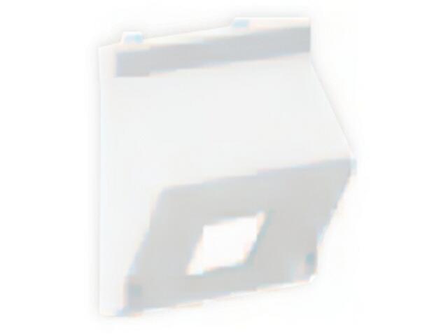 Płytka Connect teleinf. 1x bez osłon skośna K080/9 Kontakt Simon