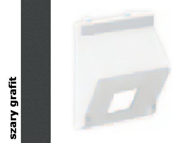 Płytka Connect teleinf. 1x bez osłon skośna K080/14 płytka Kontakt Simon