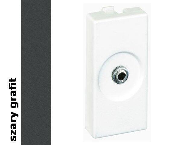 Adapter Connect gniazda mini-jack+wkład K123A/14 Kontakt Simon