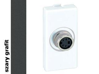Adapter Connect gniazda S-Video (fi14mm)+wkład K103A/14 Kontakt Simon