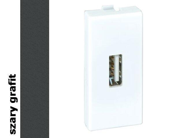 Adapter Connect złącza USB+gniazdo K128A/14 Kontakt Simon