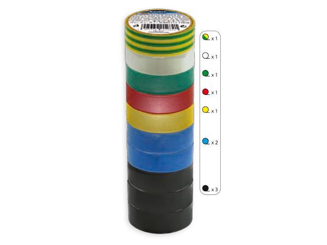 Taśma elektroinstalacyjna IT-1/10-MIX kolorów 10m Kanlux