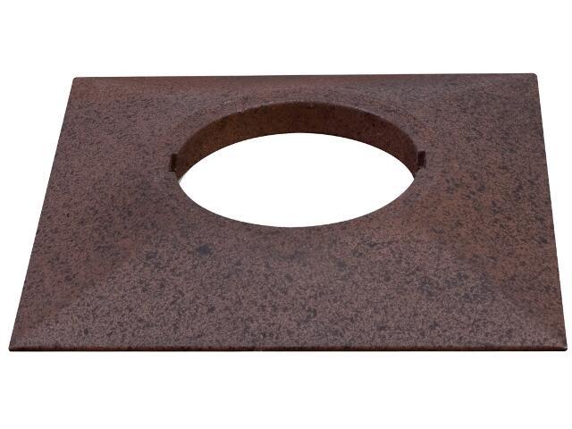 Pierścień Profi Line kwadratowy do UpDownlight LED rdzawy Paulmann