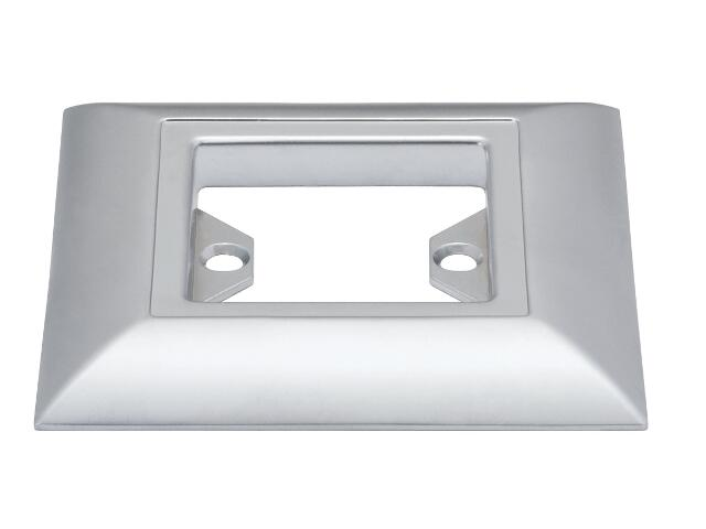 Pierścień Profi Line Quadro LED chrom mat Paulmann