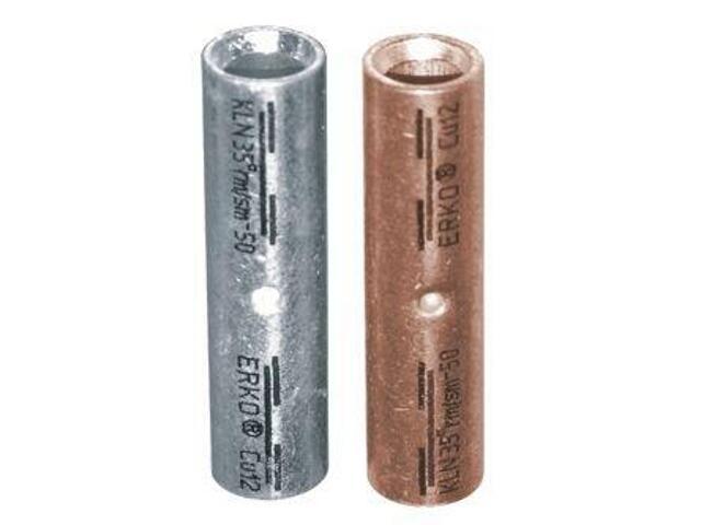 Złączka kablowa tulejkowa miedziana KLN 95-70 10szt Erko