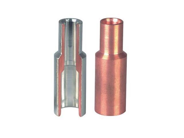 Złączka kablowa redukcyjna tulejkowa miedziana KLR 50-10 1szt Erko