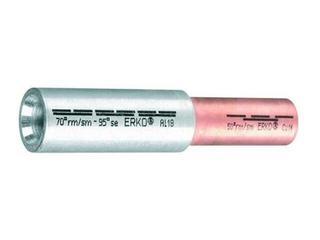 Złączka kablowa tulejkowa redukcyjna Al-Cu szczelna ACL 70-70 1szt Erko