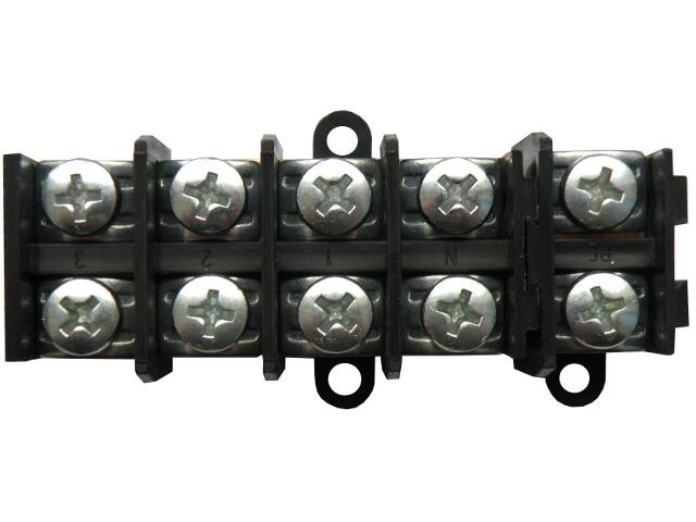 Szybkozłączka zaciskowa 5x10mm2 (1x10+4x10) Pawbol