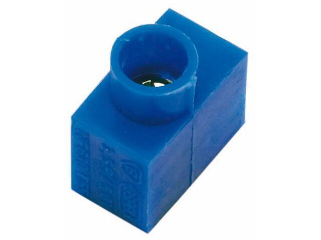 Złączka kablowa 2,5 niebieska Polmark