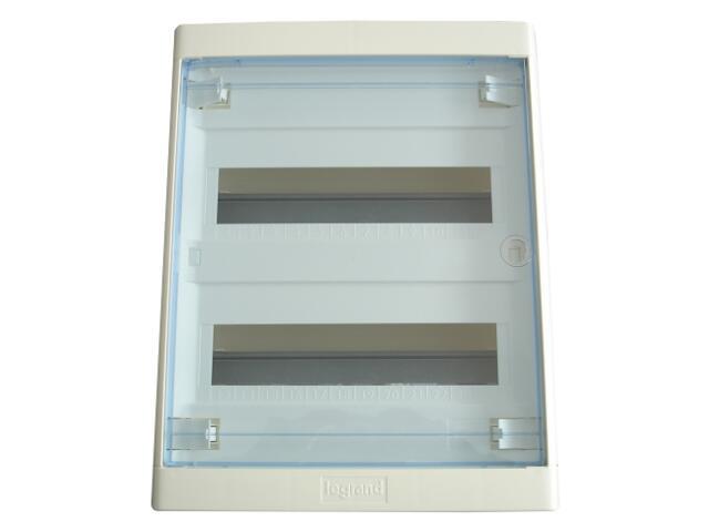 Rozdzielnia podtynkowa NEDBOX 2x12 modułów drzwi transparentne 601247 Legrand